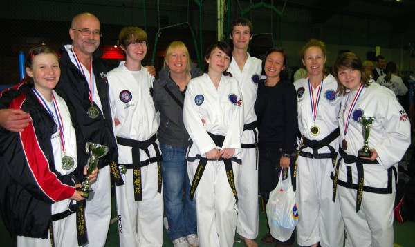 Bungay and Beccles Black Belts at the GTUK British Champs 2012