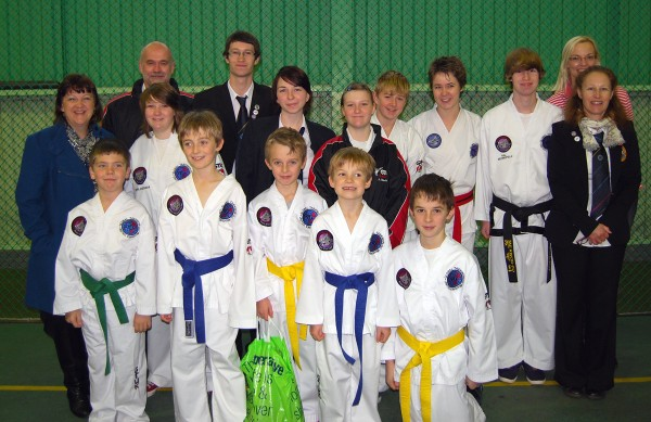 Bungay and Beccles Clubs at the GTUK British Champs 2012