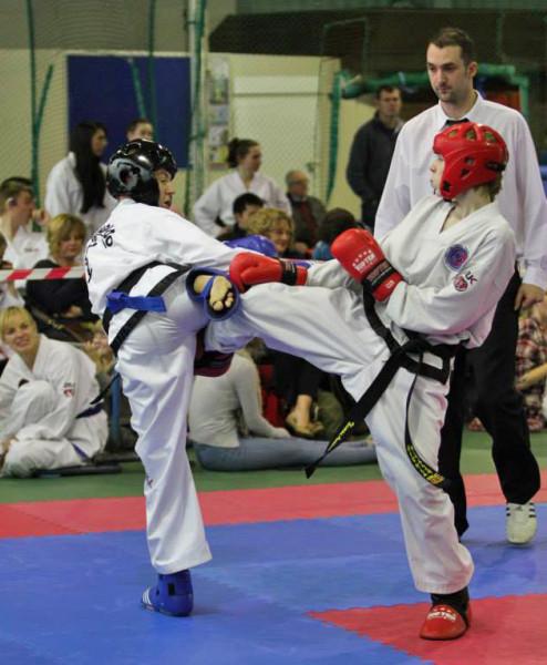 Callum sparring