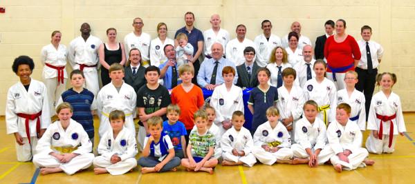 Bungay Taekwondo Grading Success June 2015